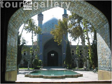 Isfahan interesting tourism places-chahar bagh school