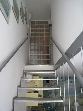 Upstairs to the first floor