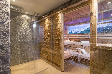 Sauna and infrared cabine