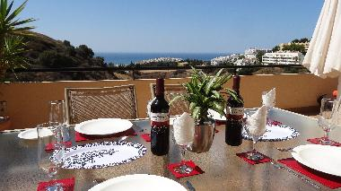 'El Fresco' dining with a gorgeous backdrop!