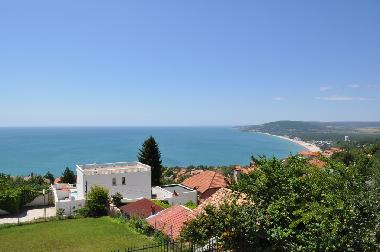 View towards Albena resort